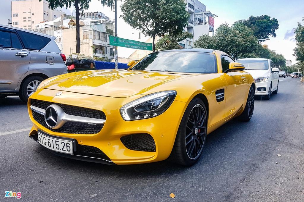 Mercedes-AMG GT S dau tien VN tai xuat anh 11