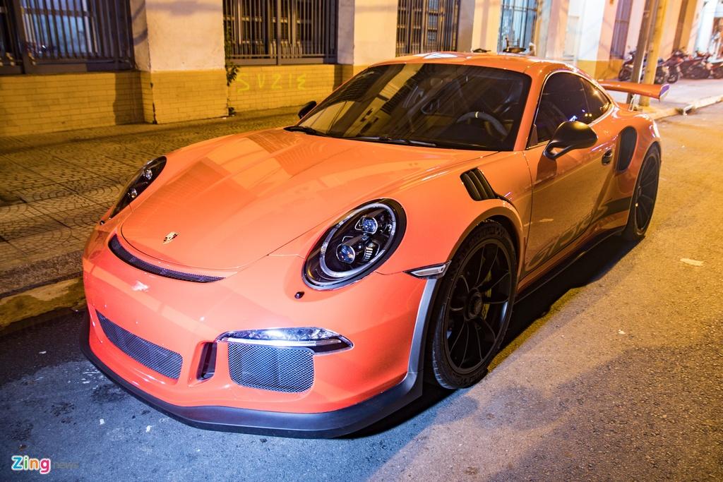 Porsche 911 GT3 RS cua Dang Le Nguyen Vu tai xuat anh 4