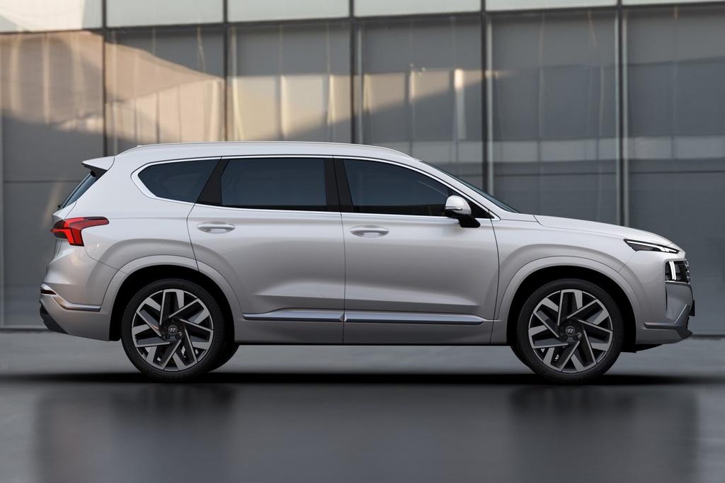 Hyundai Santa Fe 2021 dau Kia Sorento 2021 anh 11