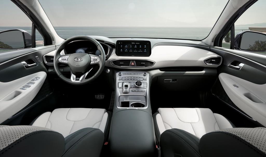 Hyundai Santa Fe 2021 dau Kia Sorento 2021 anh 7