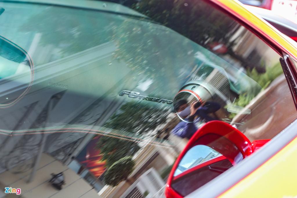 Chi tiet Ferrari F8 Tributo dau tien Viet Nam anh 11