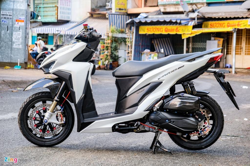 Biker Dong Thap chi hon 100 trieu do Honda Vario anh 2
