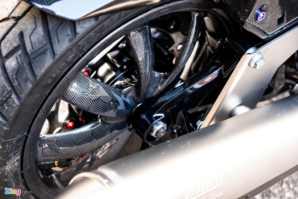 Biker Dong Thap chi hon 100 trieu do Honda Vario anh 10
