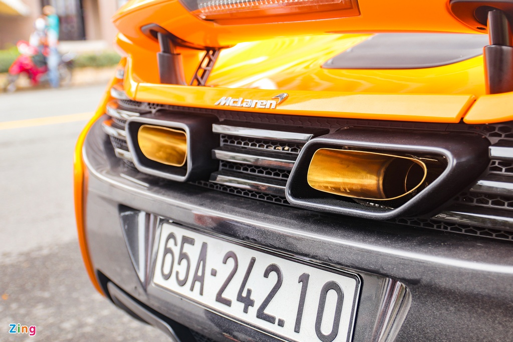 McLaren 650S Spider dau tien tai Can Tho anh 8