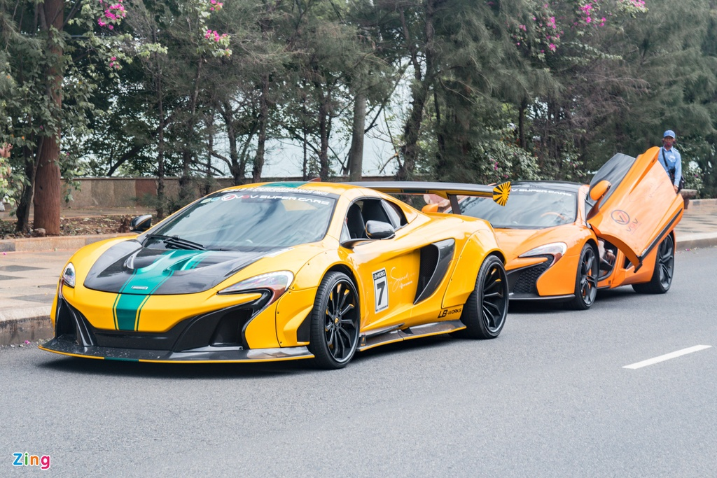 McLaren 650S Spider dau tien tai Can Tho anh 1