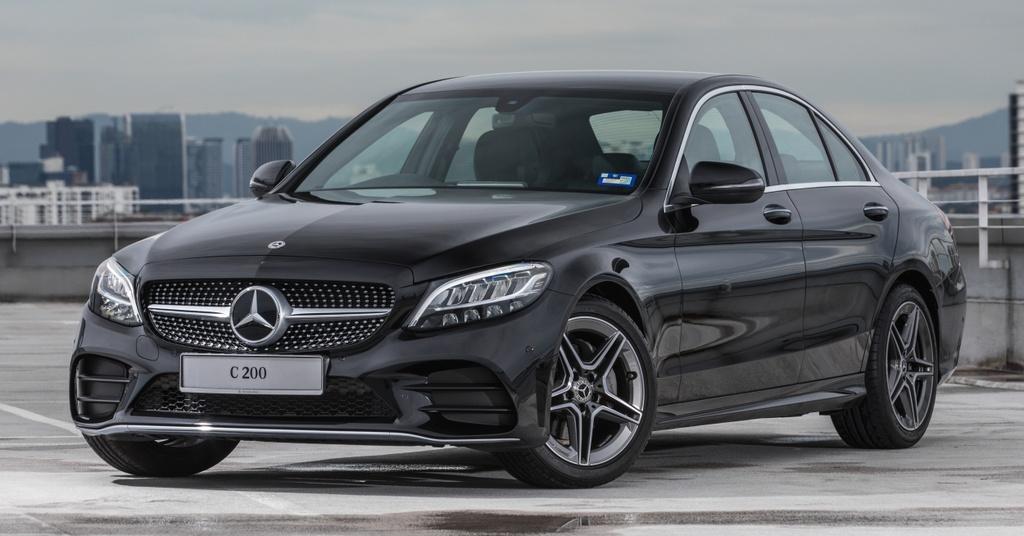 Mercedes-Benz ra mat C 200 AMG anh 1