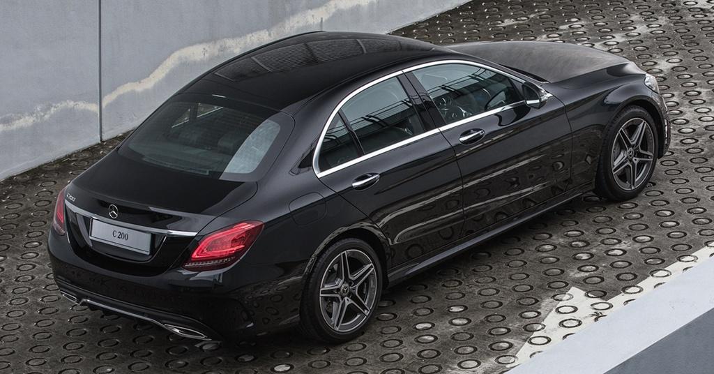Mercedes-Benz ra mat C 200 AMG anh 3