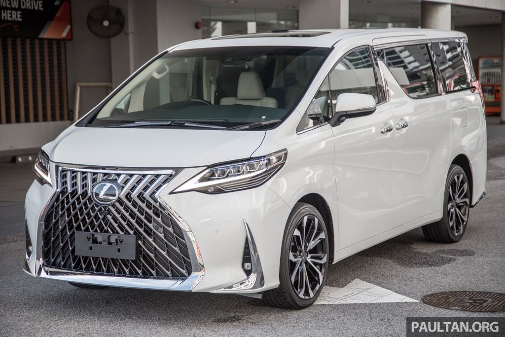 Toyota Alphard do thanh Lexus LM anh 1