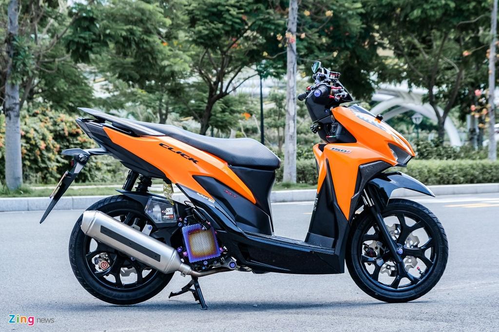 Honda Click do cua biker TP.HCM anh 2