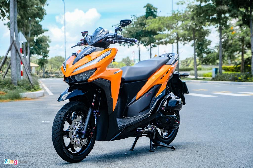 Honda Click do cua biker TP.HCM anh 1
