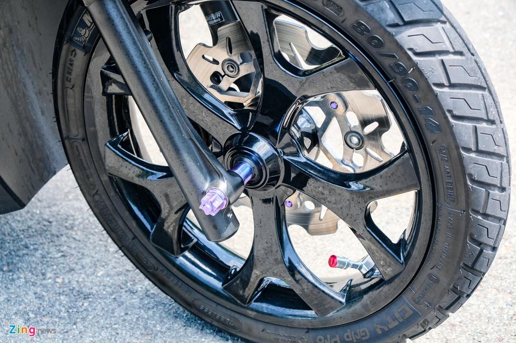Honda Click do cua biker TP.HCM anh 7