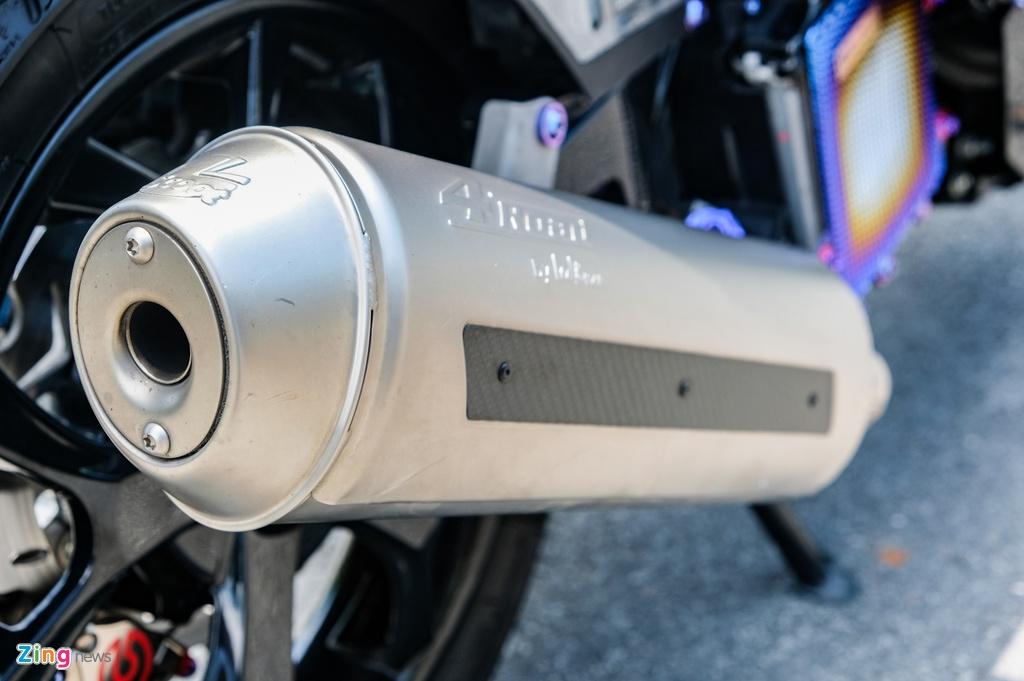 Honda Click do cua biker TP.HCM anh 12