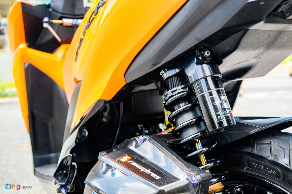Honda Click do cua biker TP.HCM anh 10