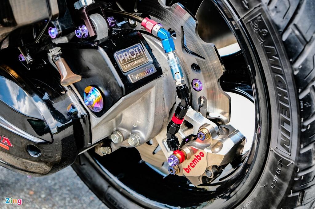 Honda Click do cua biker TP.HCM anh 9