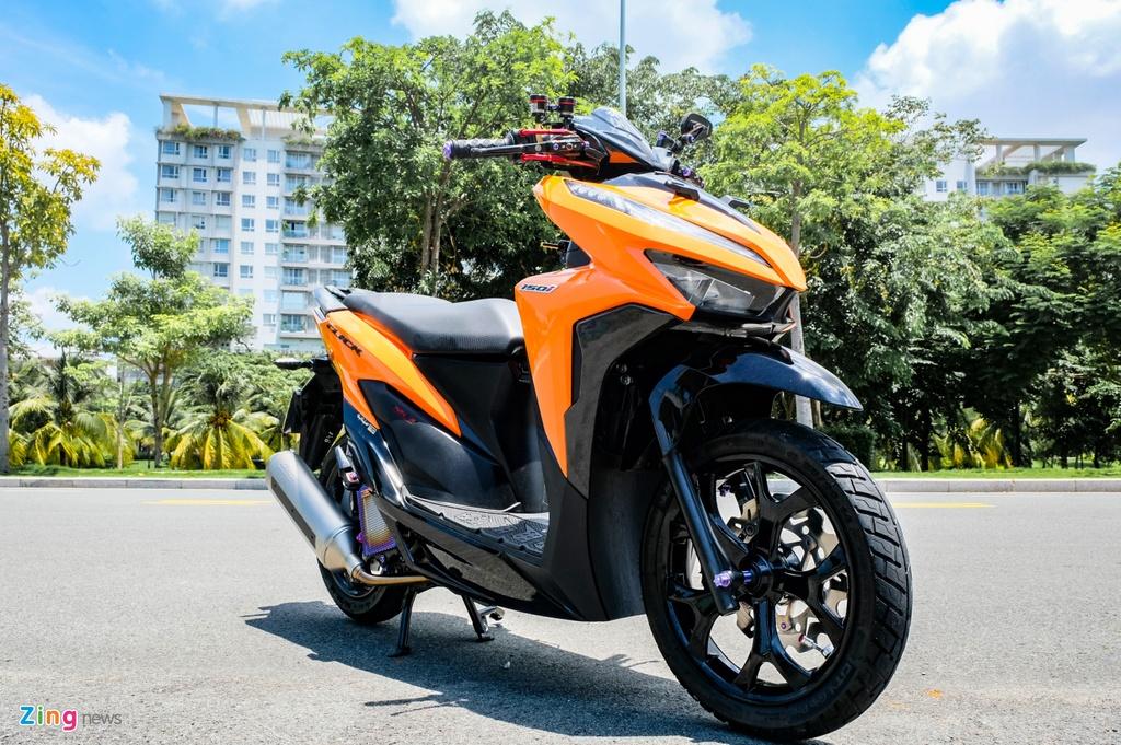 Honda Click do cua biker TP.HCM anh 13