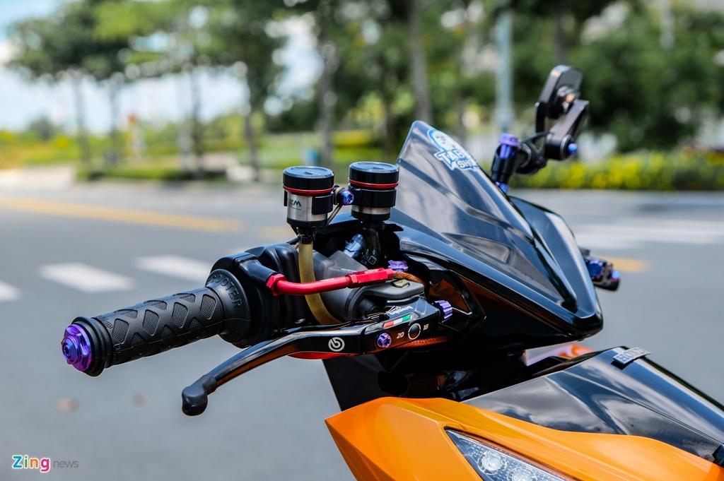 Honda Click do cua biker TP.HCM anh 5