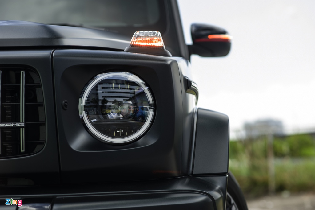 Chi tiet Mercedes-AMG G 63 voi goi Trail Package anh 7