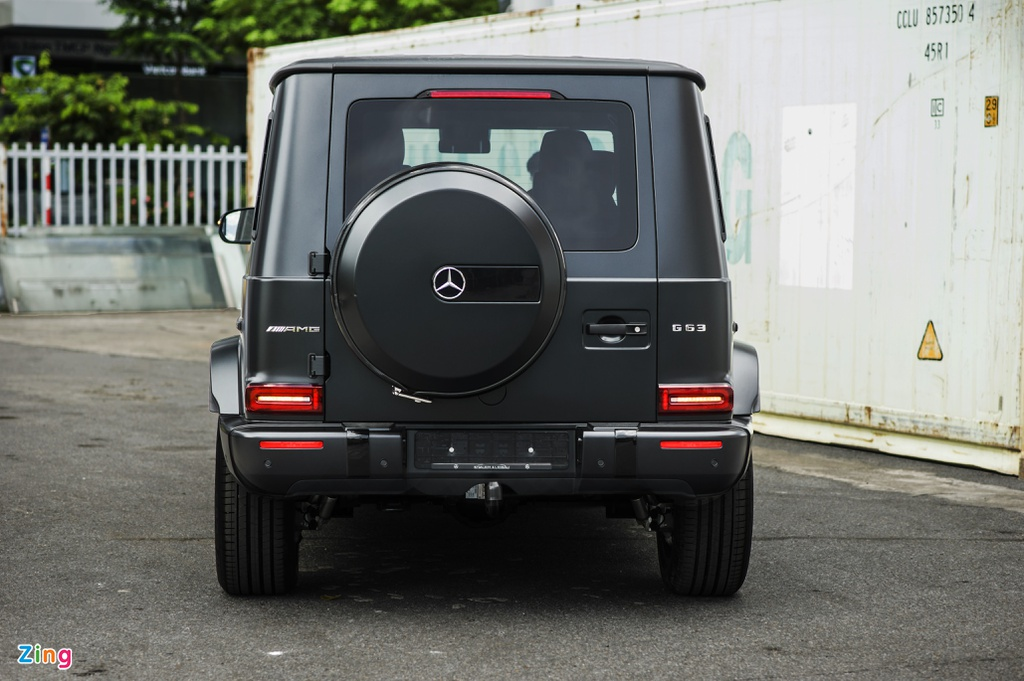 Chi tiet Mercedes-AMG G 63 voi goi Trail Package anh 14