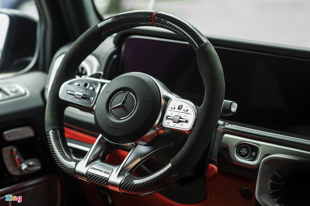 Chi tiet Mercedes-AMG G 63 voi goi Trail Package anh 11