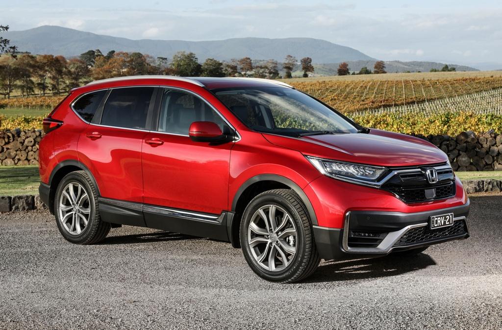 Honda CR-V 2021 ra mat anh 1