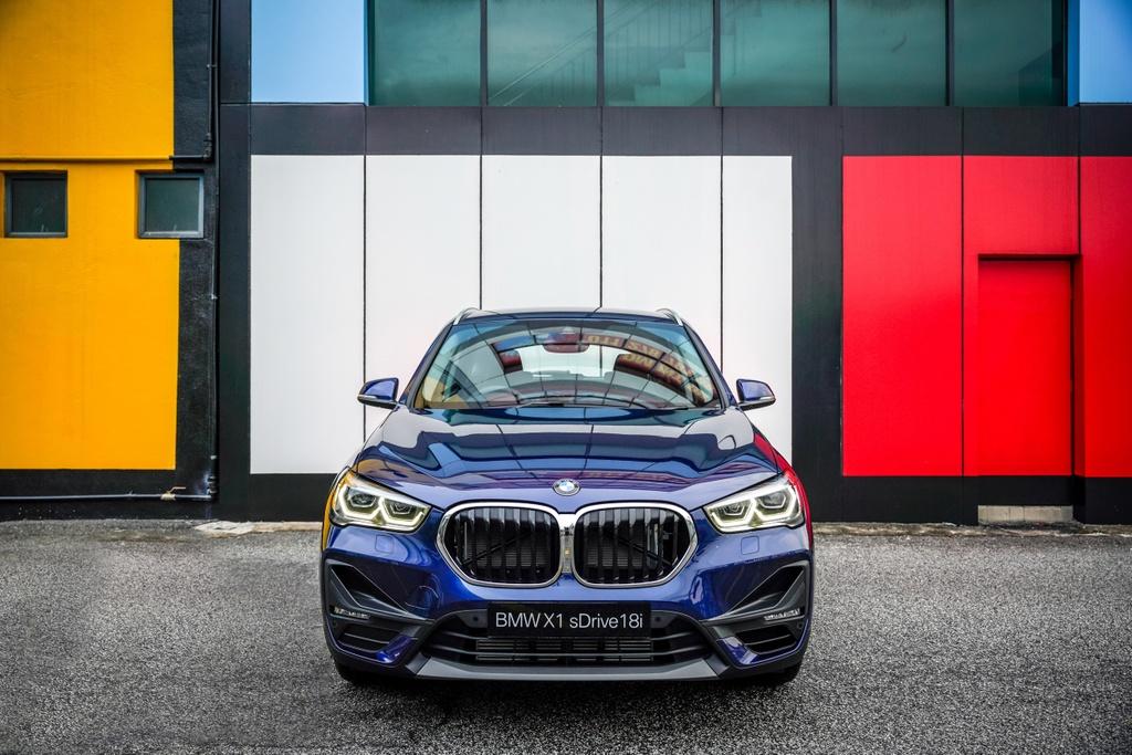 BMW X1 sDrive18i 2020 ra mat Malaysia anh 3