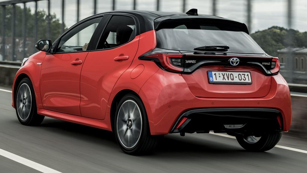Toyota Yaris 2020 ra mat chau Au anh 3