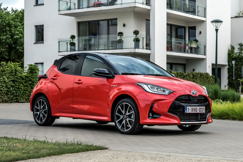 Toyota Yaris 2020 ra mat chau Au anh 1