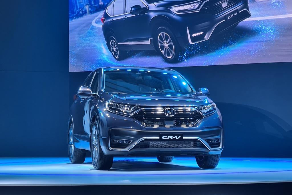 Honda ra mat CR-V 2020 anh 1