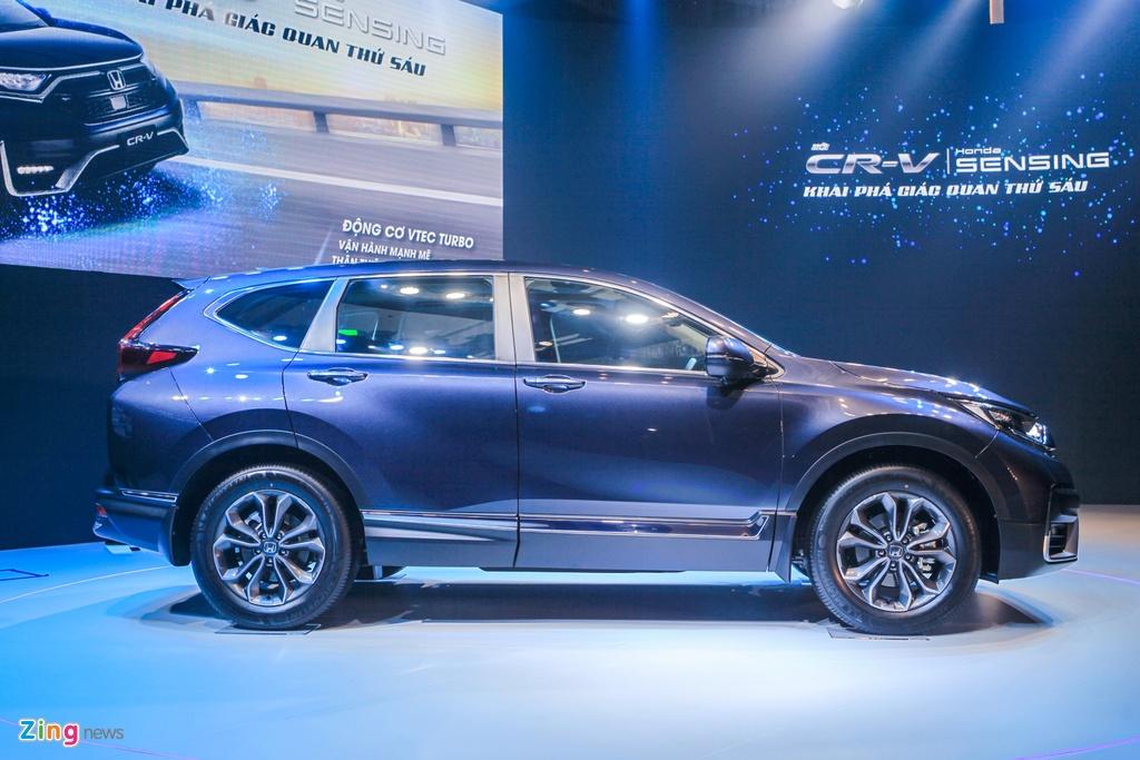 Chi tiet Honda CR-V 2020 vua ra mat anh 3