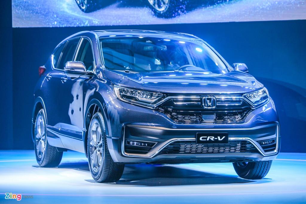 Chi tiet Honda CR-V 2020 vua ra mat anh 1