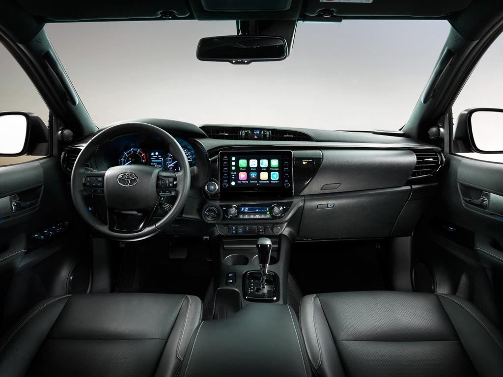 Toyota Hilux 2020 sap ra mat Malaysia anh 5