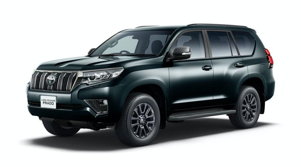 Toyota Land Cruiser Prado 2021 ra mat anh 1