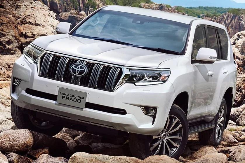 Toyota Land Cruiser Prado 2021 ra mat anh 7