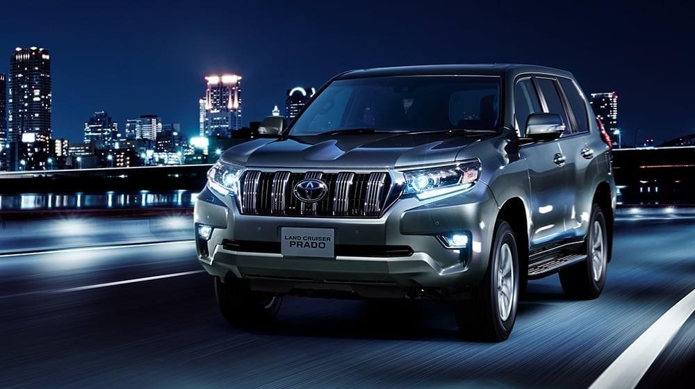 Toyota Land Cruiser Prado 2021 ra mat anh 5