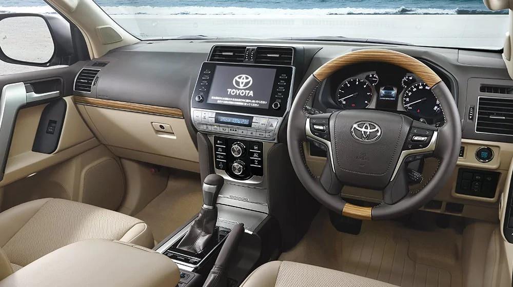 Toyota Land Cruiser Prado 2021 ra mat anh 4
