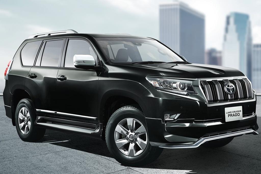 Toyota Land Cruiser Prado 2021 ra mat anh 6