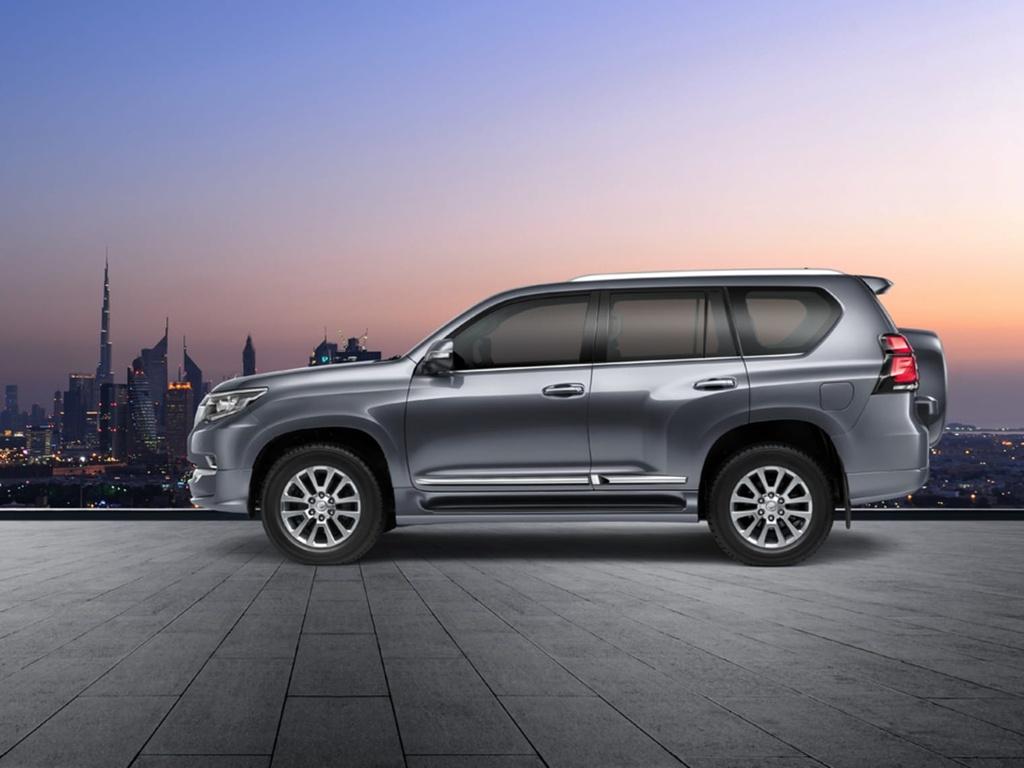 Toyota Land Cruiser Prado 2021 ra mat anh 8