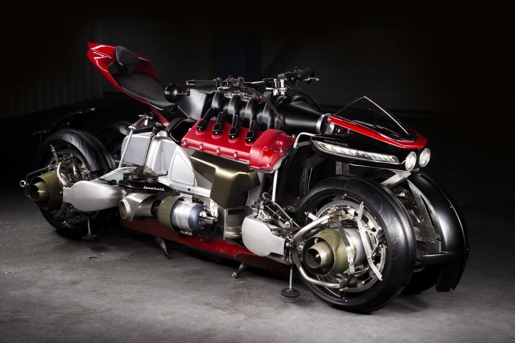 Moto bay Lazareth LMV 496 ra mat anh 1