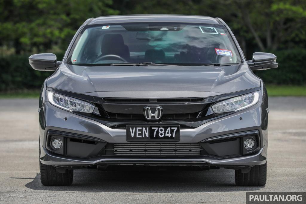 Honda Civic 2020 tai Malaysia co goi Honda Sensing anh 4