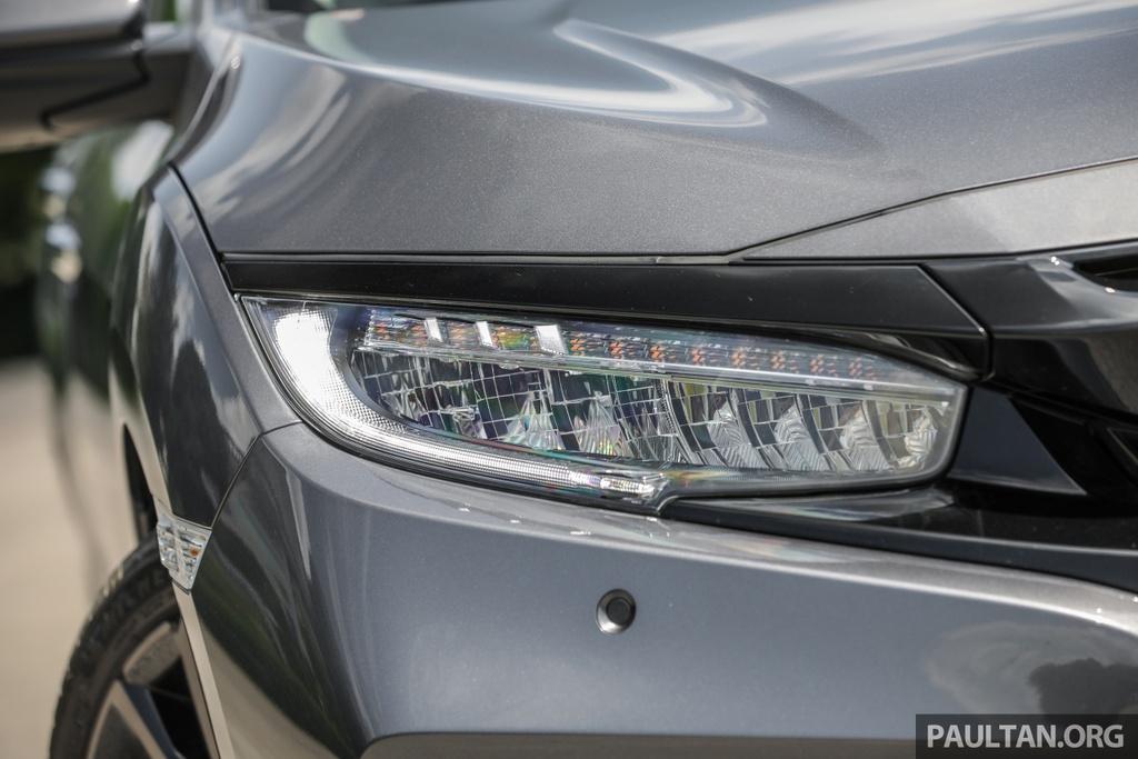 Honda Civic 2020 tai Malaysia co goi Honda Sensing anh 6