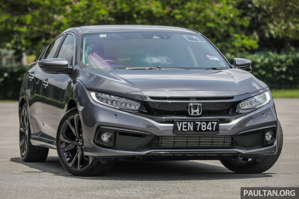 Honda Civic 2020 tai Malaysia co goi Honda Sensing anh 1
