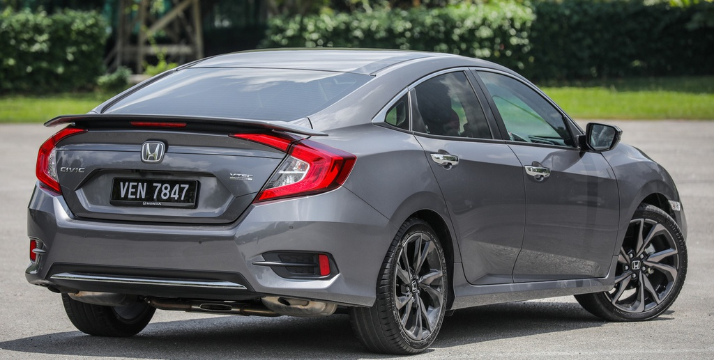 Honda Civic 2020 tai Malaysia co goi Honda Sensing anh 2