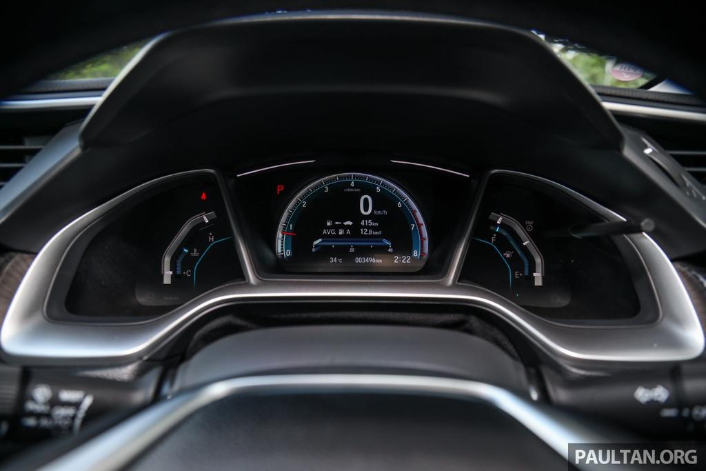 Honda Civic 2020 tai Malaysia co goi Honda Sensing anh 9