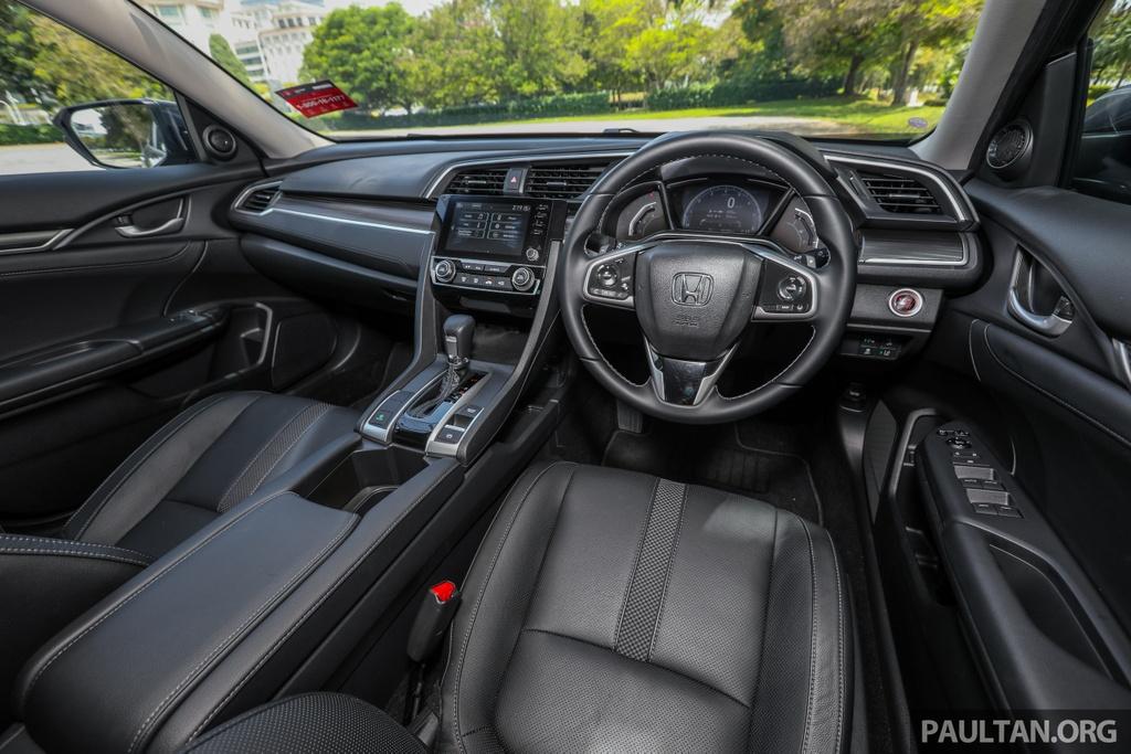 Honda Civic 2020 tai Malaysia co goi Honda Sensing anh 7