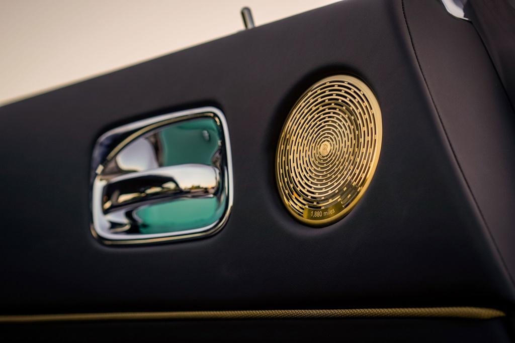 Chi tiet Rolls-Royce Wraith Eagle VIII tai Malaysia anh 8