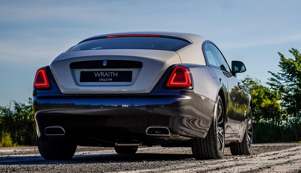 Chi tiet Rolls-Royce Wraith Eagle VIII tai Malaysia anh 3