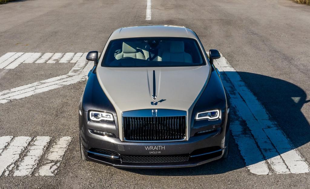 Chi tiet Rolls-Royce Wraith Eagle VIII tai Malaysia anh 1