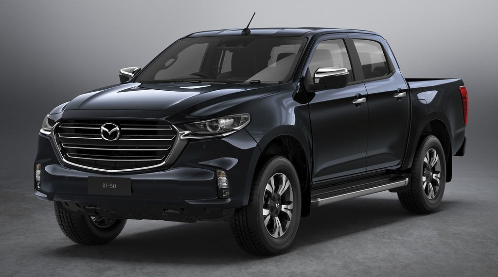 Mazda BT-50 2021 ra mắt tháng 10, khung gầm và động cơ của Isuzu D-Max