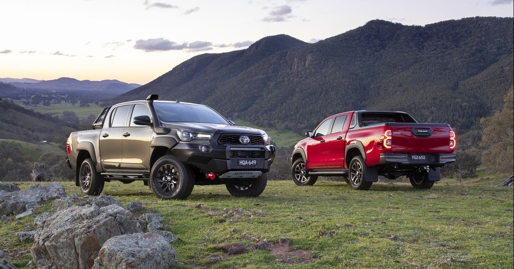 Toyota Hilux 2020 ra mat Australia anh 2