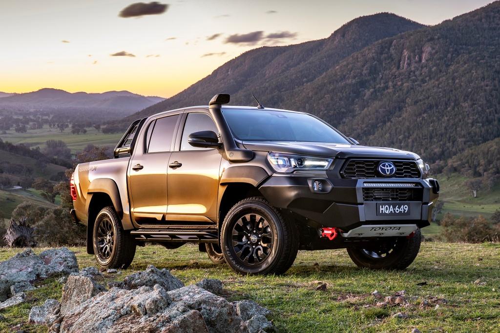 Toyota Hilux 2020 ra mat Australia anh 9